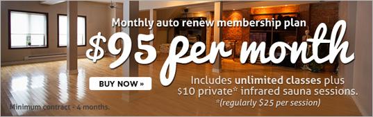 Yogaspace Membership